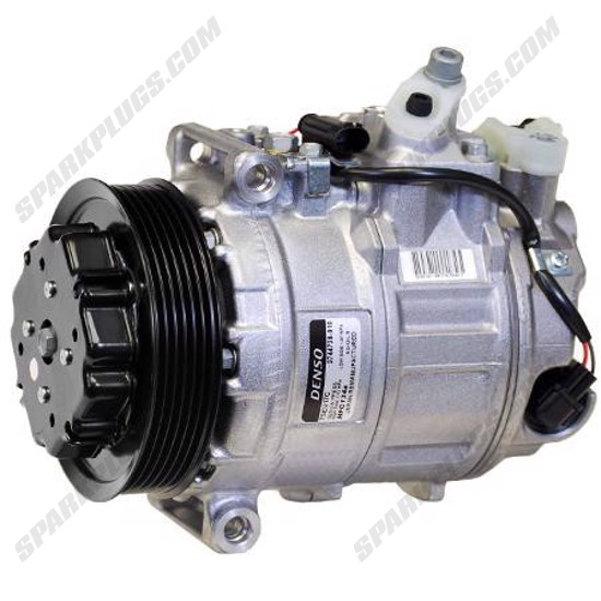 Picture of Denso 471-1602 New A/C Compressor with Clutch