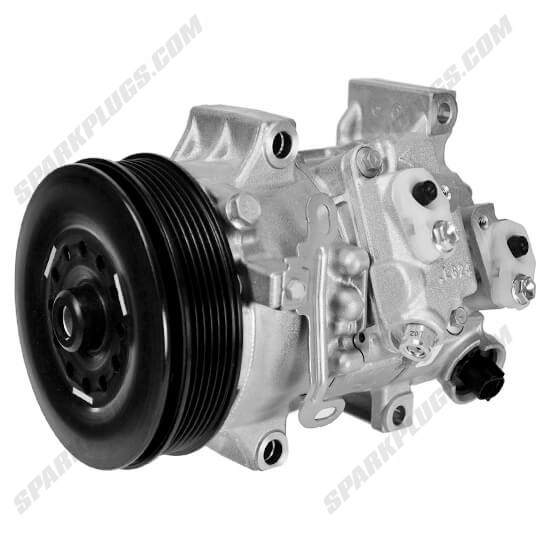 Picture of Denso 471-1608 New A/C Compressor with Clutch