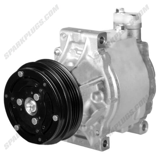 Picture of Denso 471-1609 New A/C Compressor with Clutch
