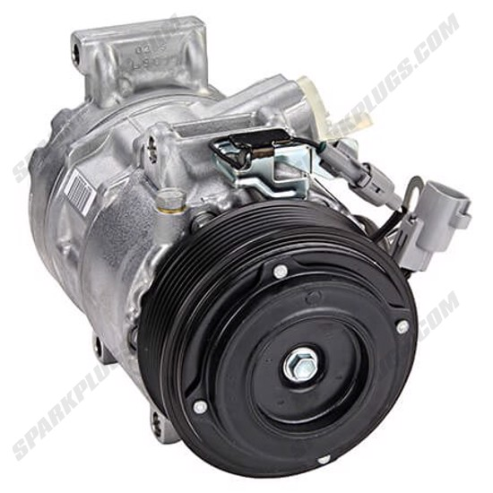 Picture of Denso 471-1612 New A/C Compressor with Clutch