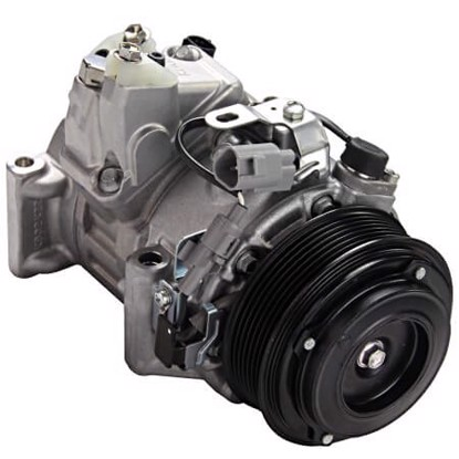 Picture of Denso 471-1619 New A/C Compressor with Clutch