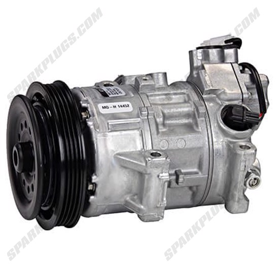 Picture of Denso 471-1622 New A/C Compressor with Clutch