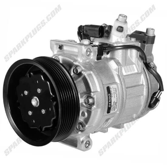 Picture of Denso 471-1626 New A/C Compressor with Clutch