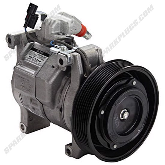 Picture of Denso 471-1635 New A/C Compressor with Clutch