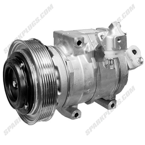 Picture of Denso 471-1638 New A/C Compressor with Clutch