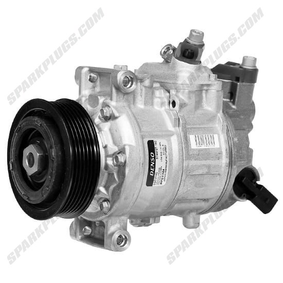 Picture of Denso 471-1691 New A/C Compressor with Clutch