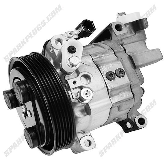 Picture of Denso 471-5000 New A/C Compressor with Clutch