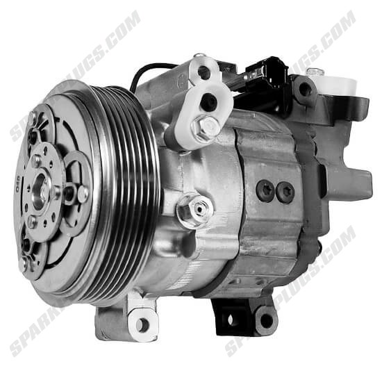 Picture of Denso 471-5001 New A/C Compressor with Clutch