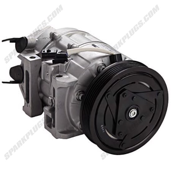 Picture of Denso 471-5003 New A/C Compressor with Clutch