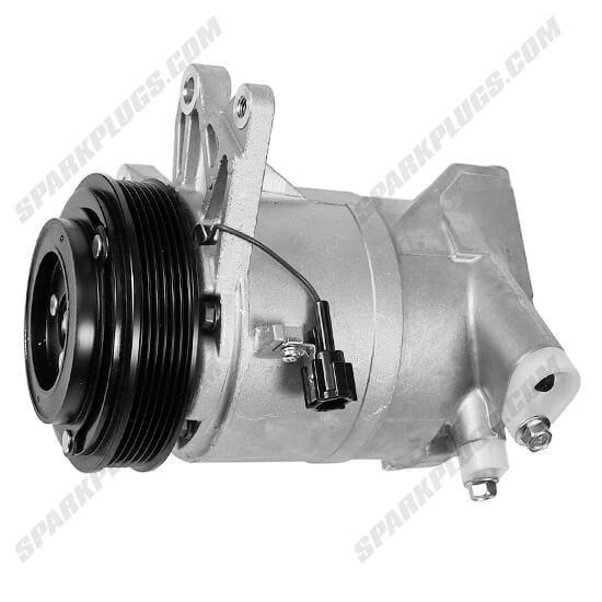 Picture of Denso 471-5008 New A/C Compressor with Clutch