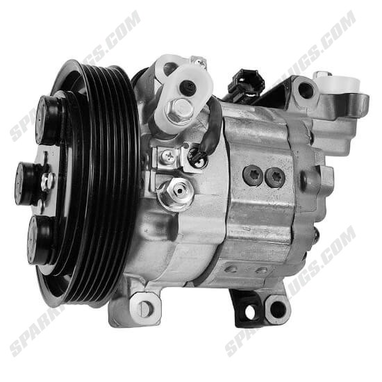 Picture of Denso 471-5009 New A/C Compressor with Clutch