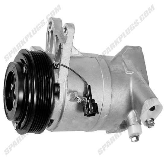 Picture of Denso 471-5011 New A/C Compressor with Clutch