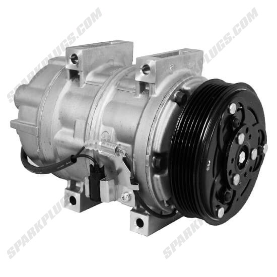Picture of Denso 471-5018 New A/C Compressor with Clutch