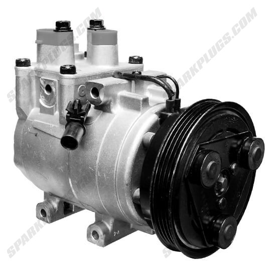 Picture of Denso 471-6001 New A/C Compressor with Clutch