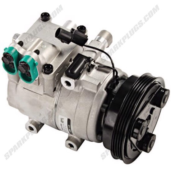 Picture of Denso 471-6003 New A/C Compressor with Clutch