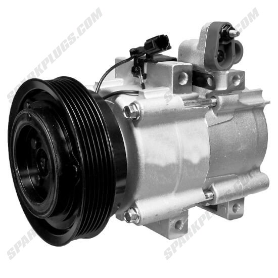 Picture of Denso 471-6016 New A/C Compressor with Clutch