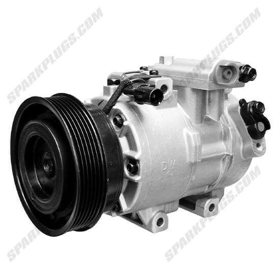 Picture of Denso 471-6024 New A/C Compressor with Clutch