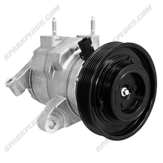 Picture of Denso 471-6053 New A/C Compressor with Clutch