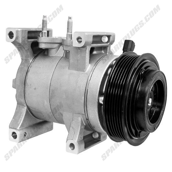 Picture of Denso 471-6054 New A/C Compressor with Clutch