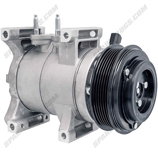 Picture of Denso 471-6055 New A/C Compressor with Clutch