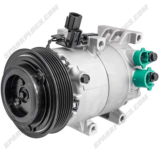 Picture of Denso 471-6056 New A/C Compressor with Clutch