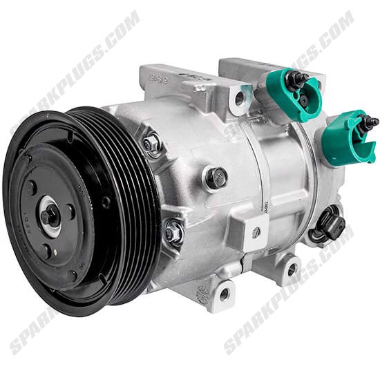 Picture of Denso 471-6058 New A/C Compressor with Clutch