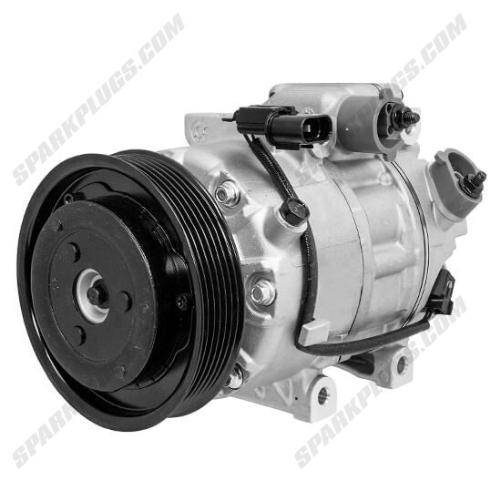 Picture of Denso 471-6059 New A/C Compressor with Clutch