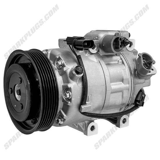 Picture of Denso 471-6060 New A/C Compressor with Clutch