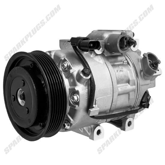 Picture of Denso 471-6061 New A/C Compressor with Clutch