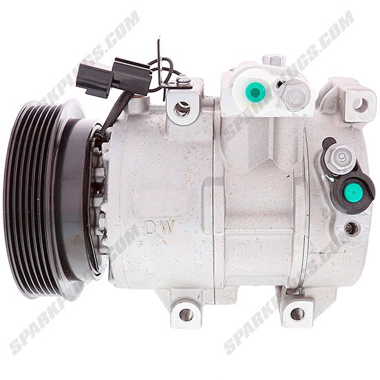Picture of Denso 471-6063 New A/C Compressor with Clutch