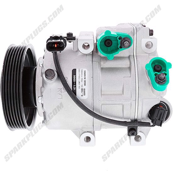 Picture of Denso 471-6066 New A/C Compressor with Clutch