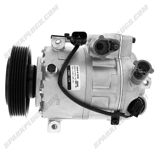 Picture of Denso 471-6067 New A/C Compressor with Clutch