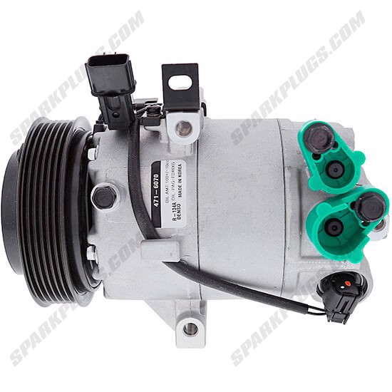 Picture of Denso 471-6070 New A/C Compressor with Clutch