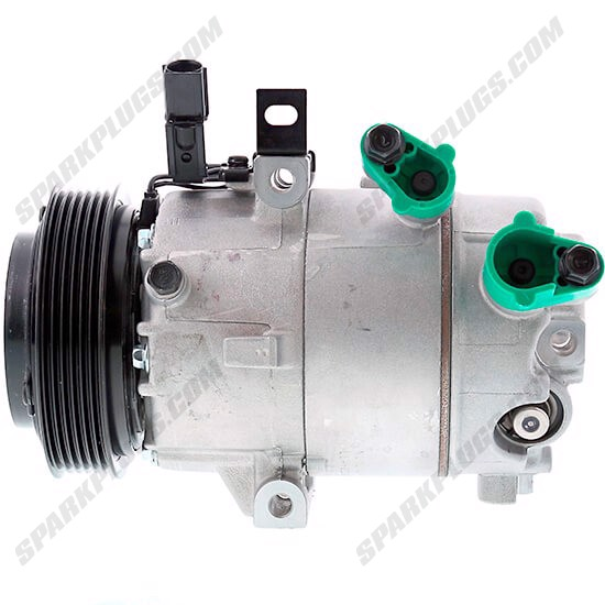 Picture of Denso 471-6082 New A/C Compressor with Clutch