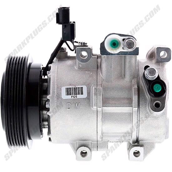 Picture of Denso 471-6084 New A/C Compressor with Clutch