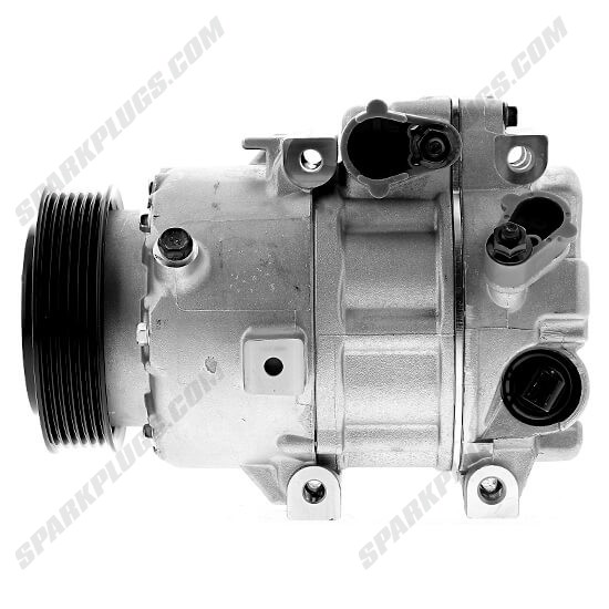 Picture of Denso 471-6085 New A/C Compressor with Clutch