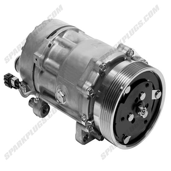 Picture of Denso 471-7000 New A/C Compressor with Clutch