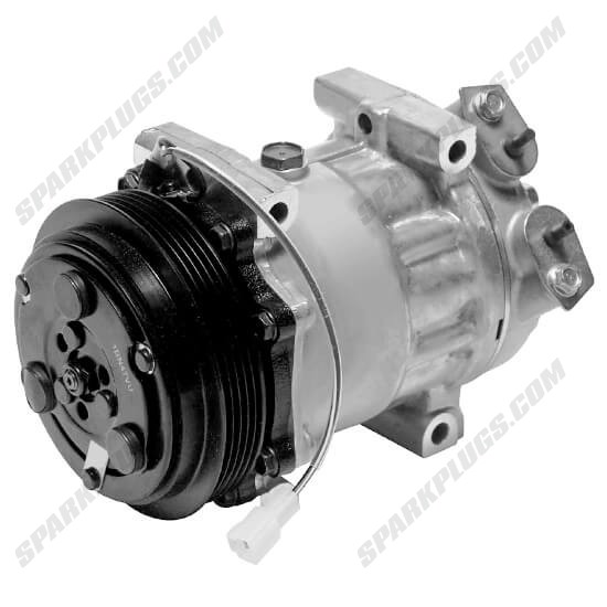 Picture of Denso 471-7007 New A/C Compressor with Clutch