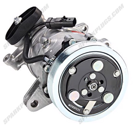 Picture of Denso 471-7011 New A/C Compressor with Clutch