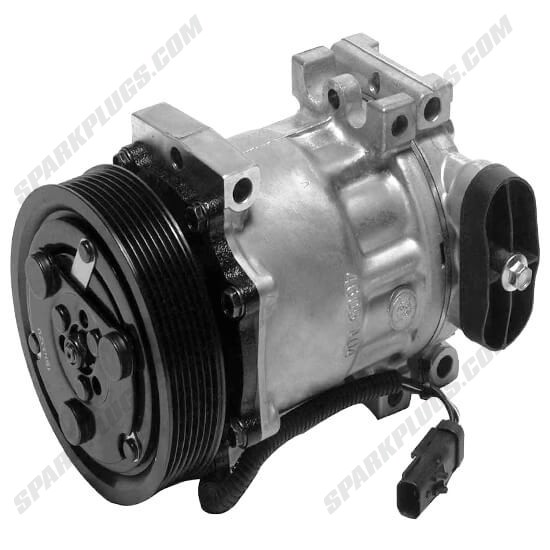 Picture of Denso 471-7012 New A/C Compressor with Clutch