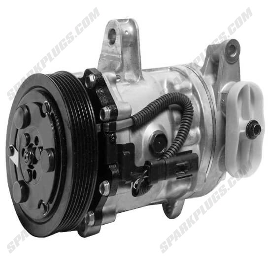 Picture of Denso 471-7013 New A/C Compressor with Clutch