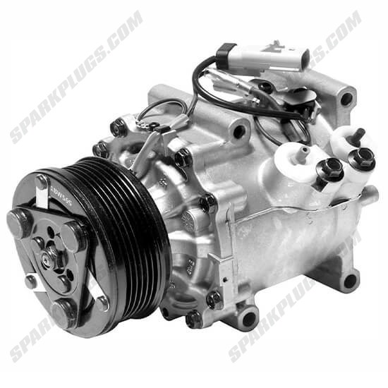 Picture of Denso 471-7015 New A/C Compressor with Clutch