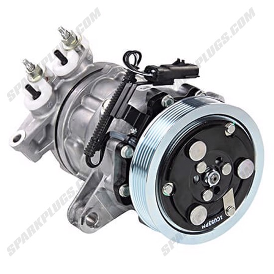 Picture of Denso 471-7026 New A/C Compressor with Clutch