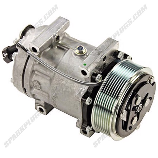 Picture of Denso 471-7028 New A/C Compressor with Clutch