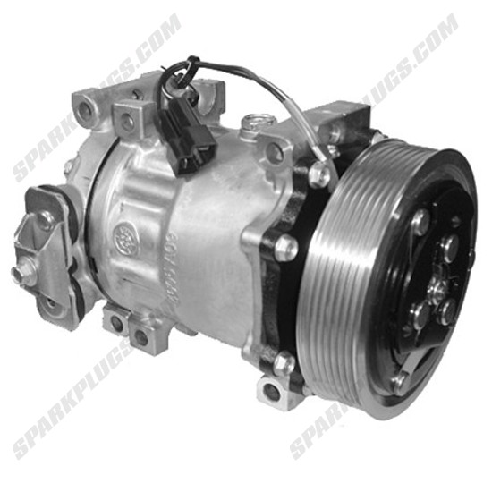 Picture of Denso 471-7031 New A/C Compressor with Clutch