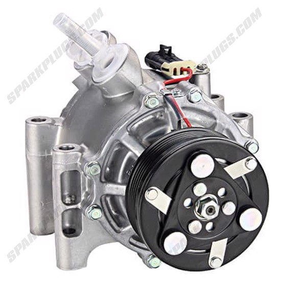 Picture of Denso 471-7035 New A/C Compressor with Clutch