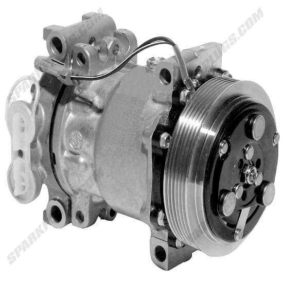 Picture of Denso 471-7044 New A/C Compressor with Clutch
