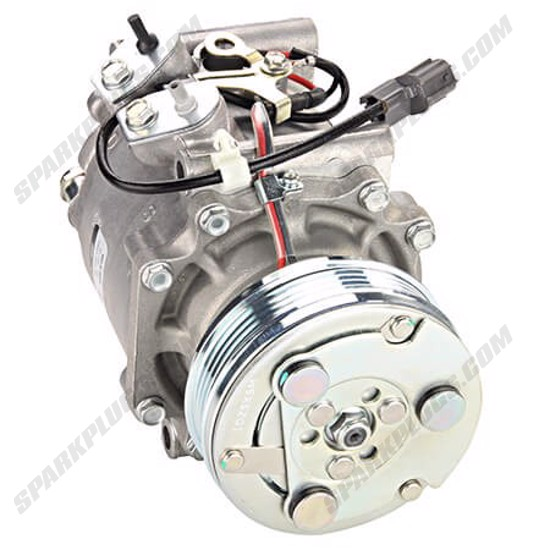 Picture of Denso 471-7050 New A/C Compressor with Clutch