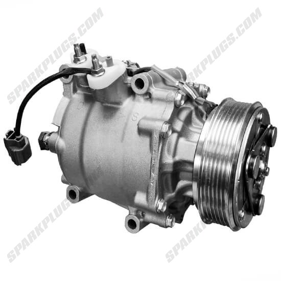 Picture of Denso 471-7052 New A/C Compressor with Clutch