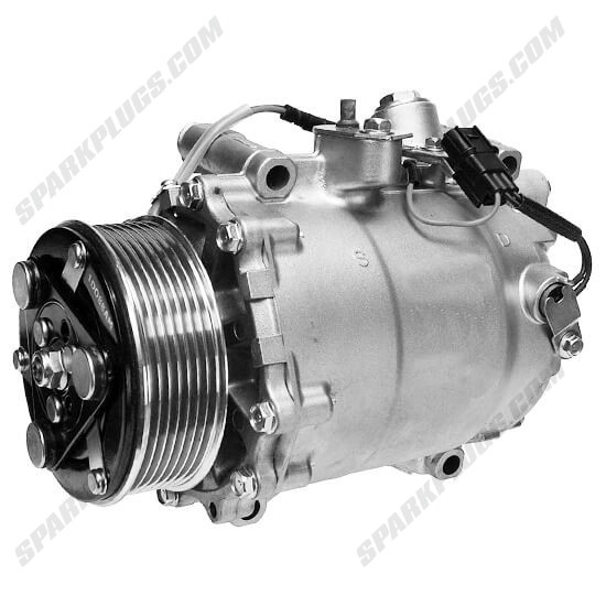 Picture of Denso 471-7053 New A/C Compressor with Clutch